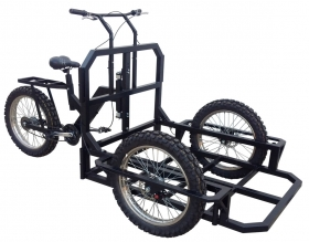 Tricycle with Strong Demultiplex easy to Ride - Cargo Bike System  Tricycles